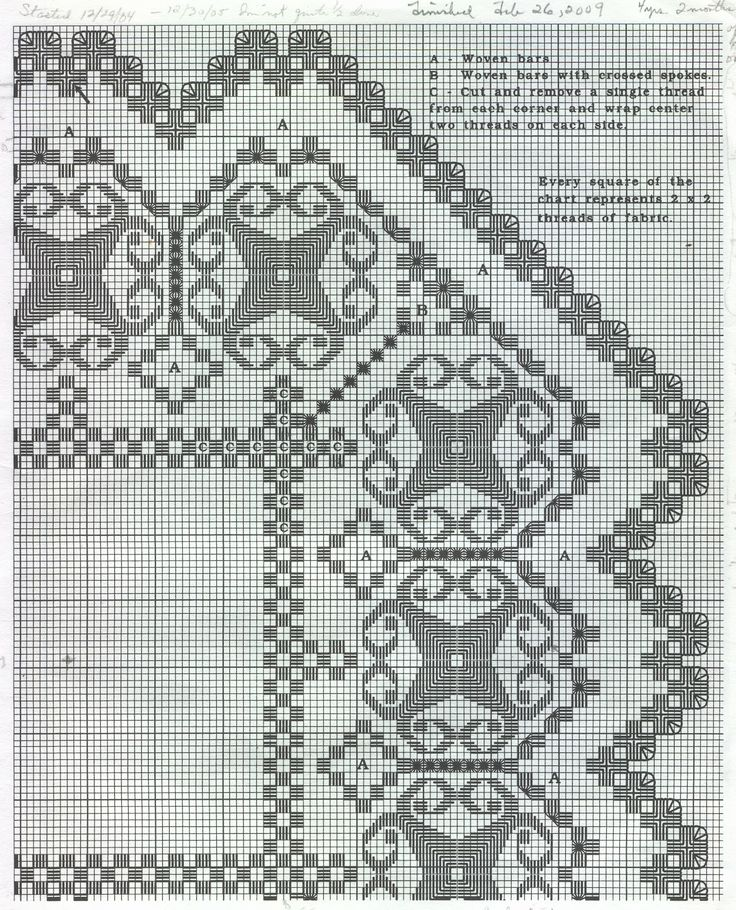 hardanger patterns free | One of the patterns my mom has used. Actually, it's very easy to take
