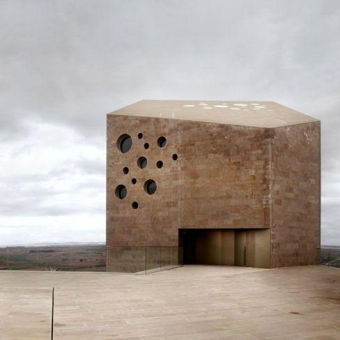 "Headquarter of ""Ribera del Duero"" winery in Spain"