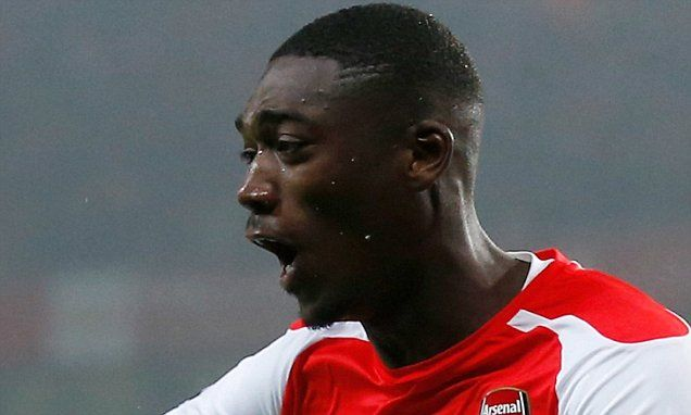 Arsenal striker Yaya Sanogo confirms Gunners exit