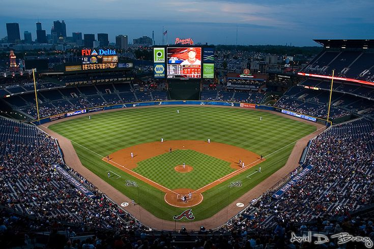 """The Ted"" Turner Field: Fields Atlanta, Favorite Places, Brave Games, Atlanta Brave, Brave Country, Brave Baseball, Fields Hom, Turner Fields, Baseball Games"