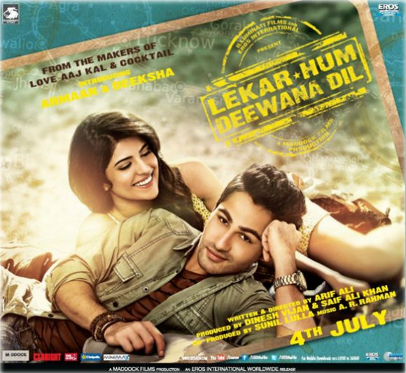 Dil Deewana Song Free Download: Lekar Hum Deewana Dil (2014) Hindi Movie Poster First Look