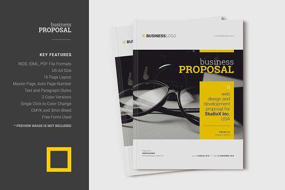 Proposal by DesignJanala on @creativemarket