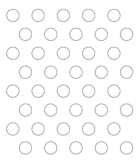 printable templates for macarons 40*35 - Google Search