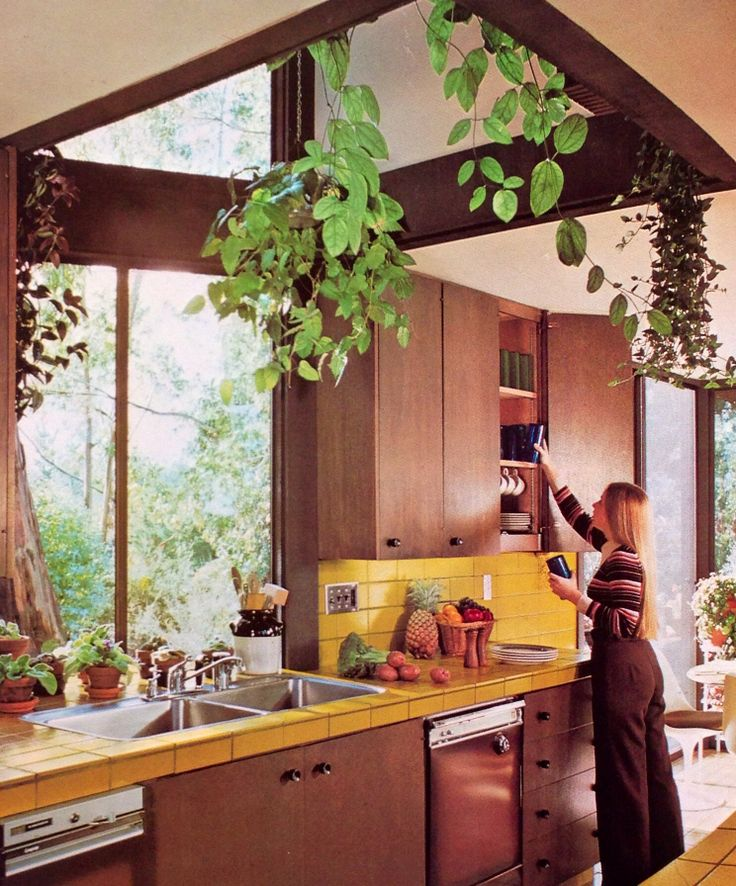 66 Best Images About Orange Kitchens On Pinterest: 17 Best Images About 70's Pad On Pinterest