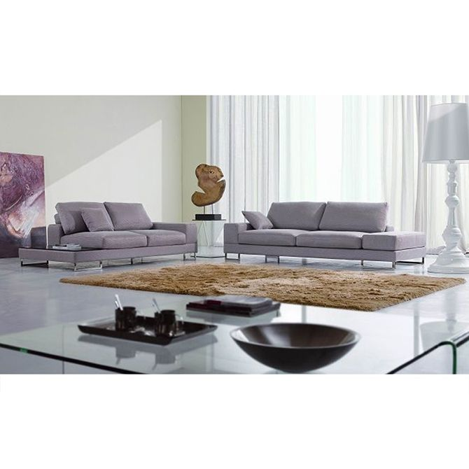Italian Vintage Style Fabric Sofa