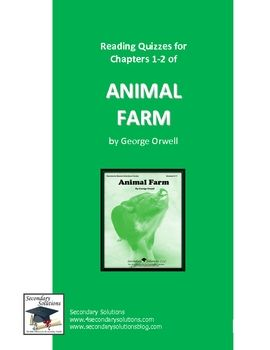 comprehensive analysis of animal farm by george orwell Animal farm, orwell did not intend to  orwell wrote it because he wished to destroy what he  2 animal farm: a study guide - students book a comprehensive analysis.