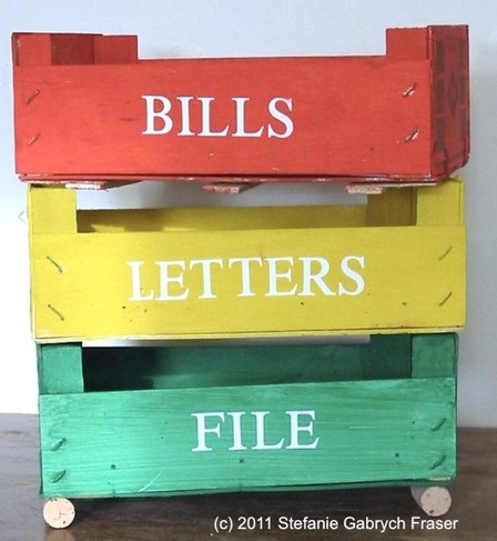 Recycling and Reusing Clementine Crates - Stefanie Gabrych Fraser (http://)