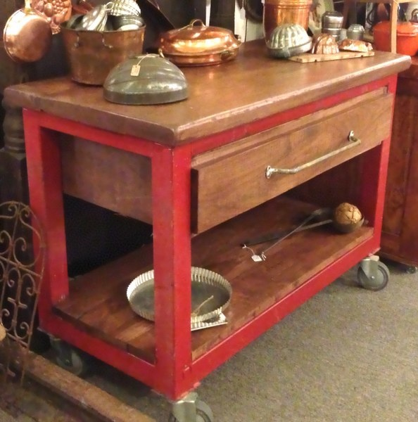 Vintage Kitchen Island Industrial Moving Rolling Cart: 20 Best Images About At Urban Mining Homewares On