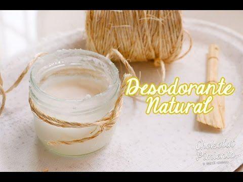 Desodorante Natural hecho en casa, con base de bicarbonato y aceite de coco. Ingredientes 1/4 de taza de bicarbonato 1/2 taza de harina de tapioca o fécula d...