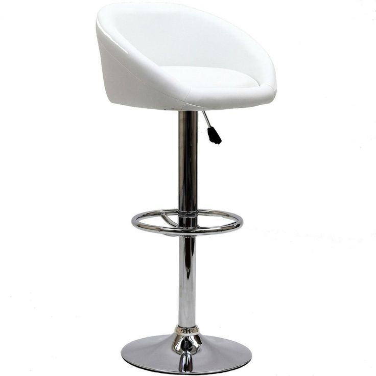 ModWay Furniture Marshmallow Barstool in White - Beyond the Rack - $79.99
