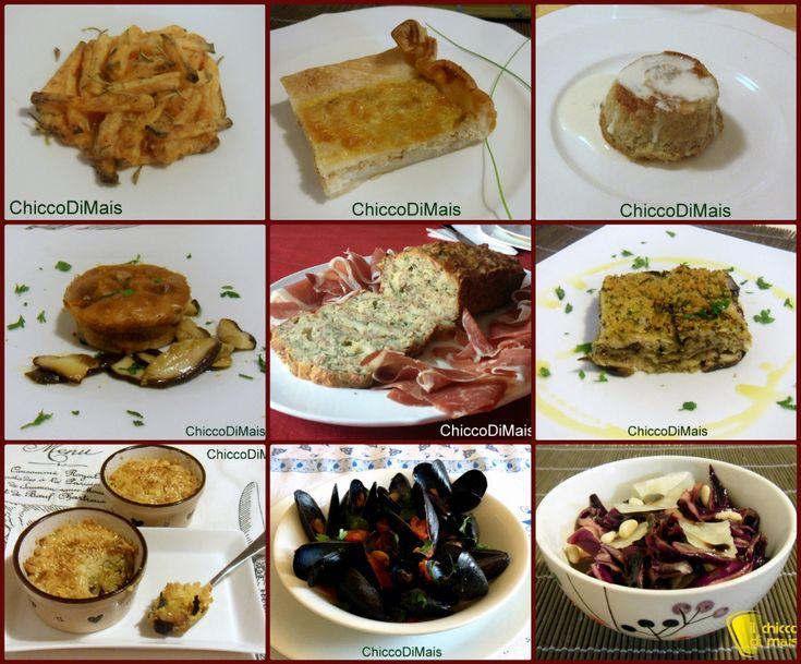 10 Antipasti per Natale 2013. Raccolta di ricette facili veloci e economiche di antipasti per Natale e Capodanno di carne, pesce, vegetariane, senza glutine
