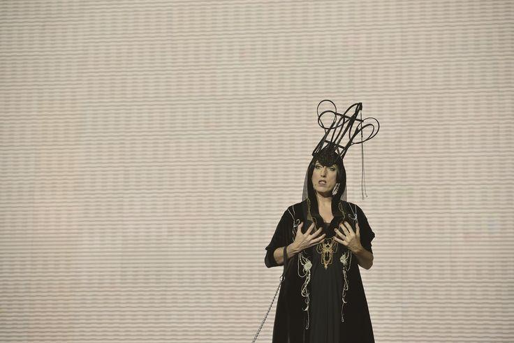 Rossy de Palma wearing Natalie Capell
