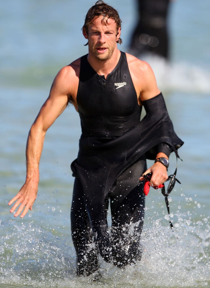Triathlon....Jenson Button. From F1 to Triathlete