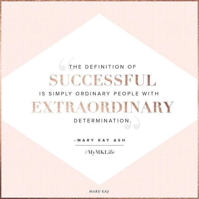 We think you're extraordinary. ✨ Tag someone ready to define their own success! #MyMKLife