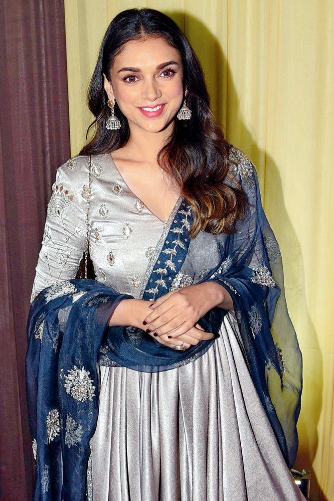 Aditi Rao Hydari at Baba Siddique's iftar party. #Bollywood #Fashion #Style #Beauty #Hot #Ethnic #Desi