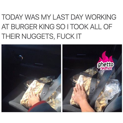 Stole all the nuggets