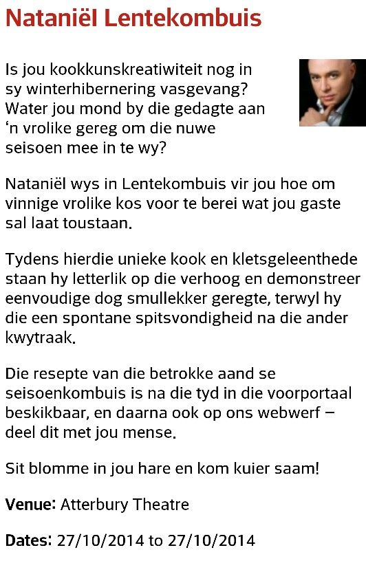 Nataniel Lentekombuis