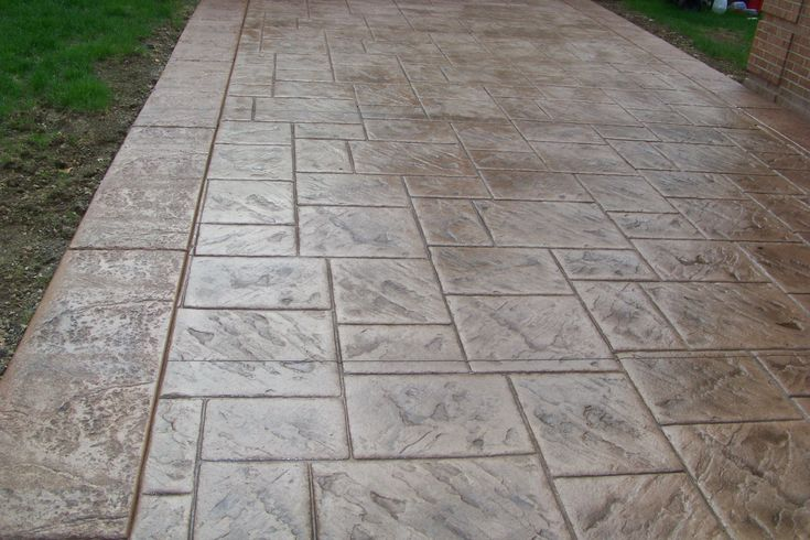 stamped concrete patterns yahoo search results patio