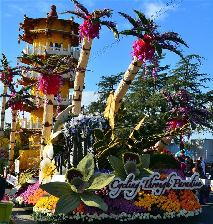 Rose Parade Floats >> Viewing the 2013 Rose Parade Floats Up Close | Rose bowl parade