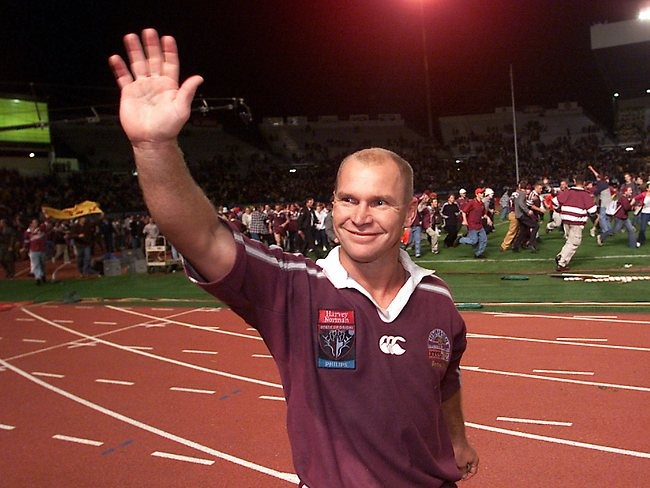 Allan Langer (Former No. 7, Australian former multi-award-winning rugby league footballer of the 1980s, 90s and 2000s who works as an assistant coach for the Australian national team and Brisbane Broncos)