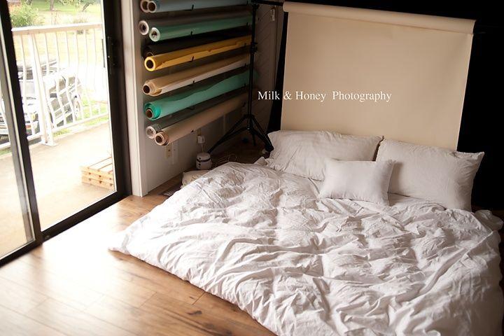 Backdrop Ideas: fake bed