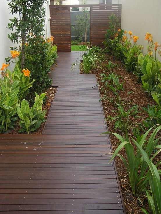 448 best Side yard landscaping idea images on Pinterest ... on Side Yard Walkway Ideas  id=70828