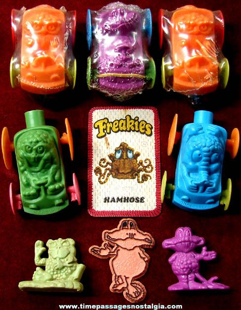 Image detail for -1970s Ralston Freakies Cereal Advertising Character Prize Toys ...