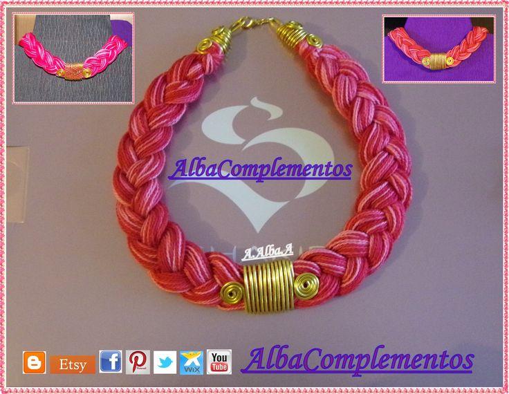 nuevo collar hecho a mano a la venta.