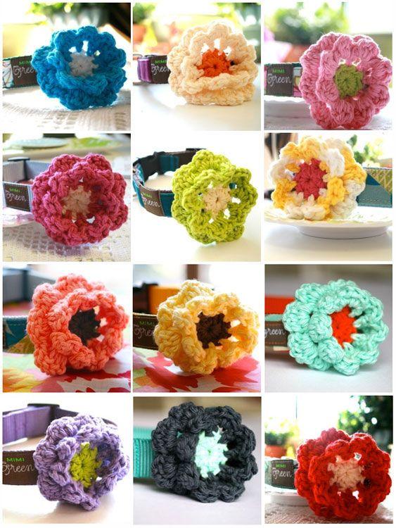 The 95 Best Crochet Dog Collar Images On Pinterest