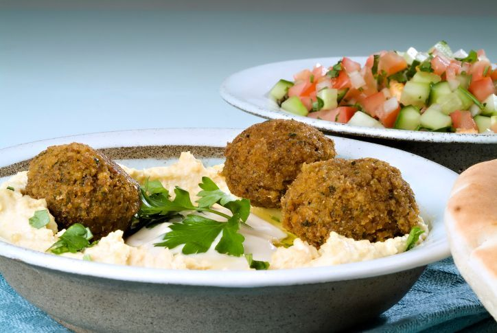 falafel hummus