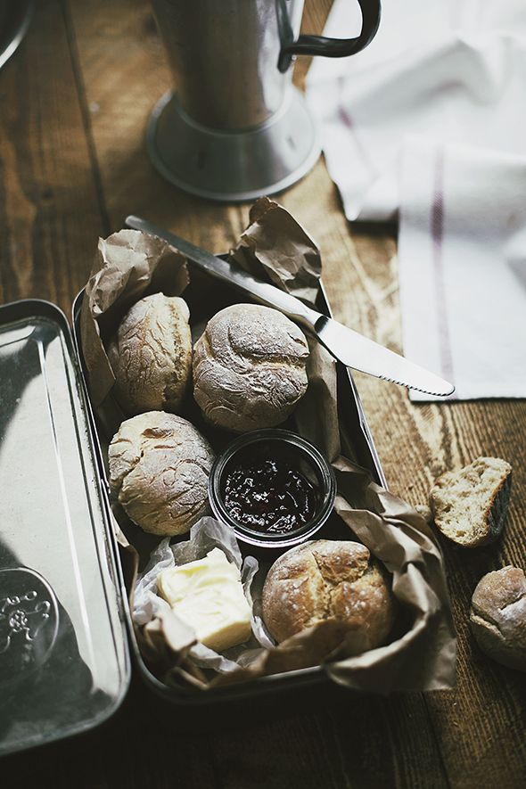 Bread or Rolls recipe by Nicky & Max. For a large round bread or 6-8 small rolls