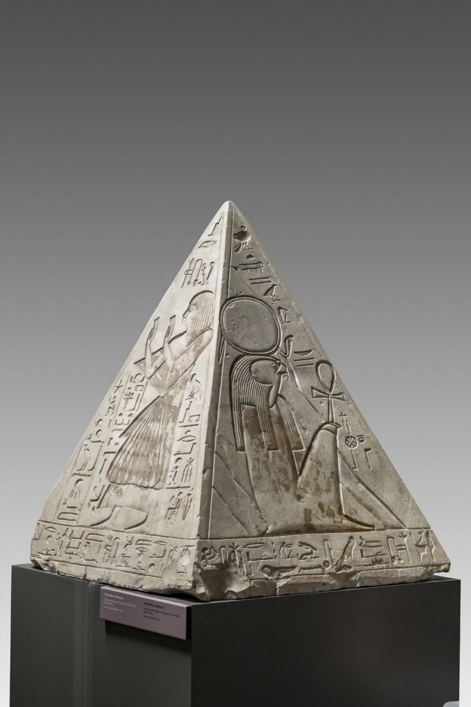 Pyramidion Of Ramose The Limestone Pyramidion Of Ancient Egyptian Art Egypt Museum Egyptian Art