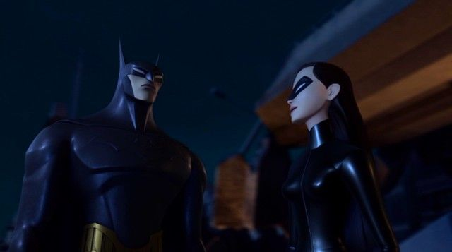 "Step aside, Robin. Batman has a new sidekick by the name of Katana (Bruce Wayne's driver Tatsu Yamashiro) in ""Beware the Batman"": http://www.dvdizzy.com/bewarethebatman-part1.html"