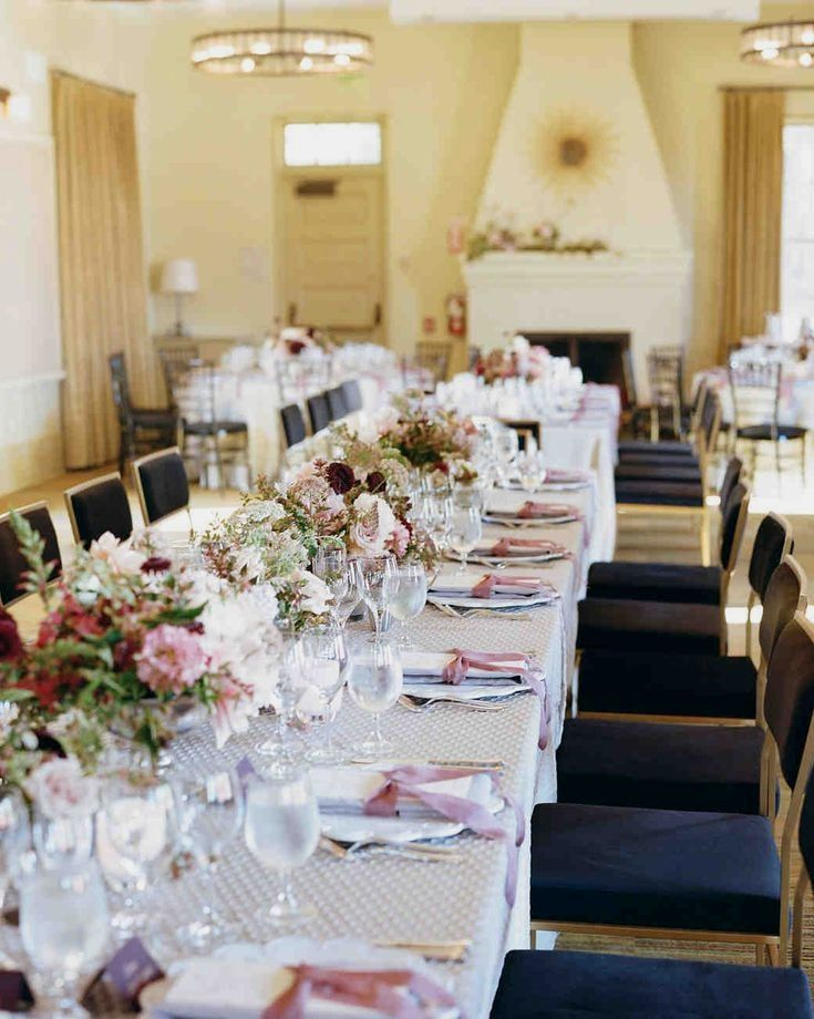 11 Festive Wedding Reception Flower Ideas That You Wont Hate