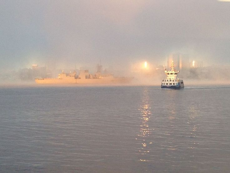 Enjoy the beauty that surrounds you in #Halifax - waiting for the Woodside Ferry on a crisp October morning - #photo taken by Shawna Huntley. http://www.MervEdinger.com
