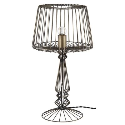 92 best lighting images on pinterest light fixtures apartments open wire table lamp home accessories by graham and brown greentooth Gallery