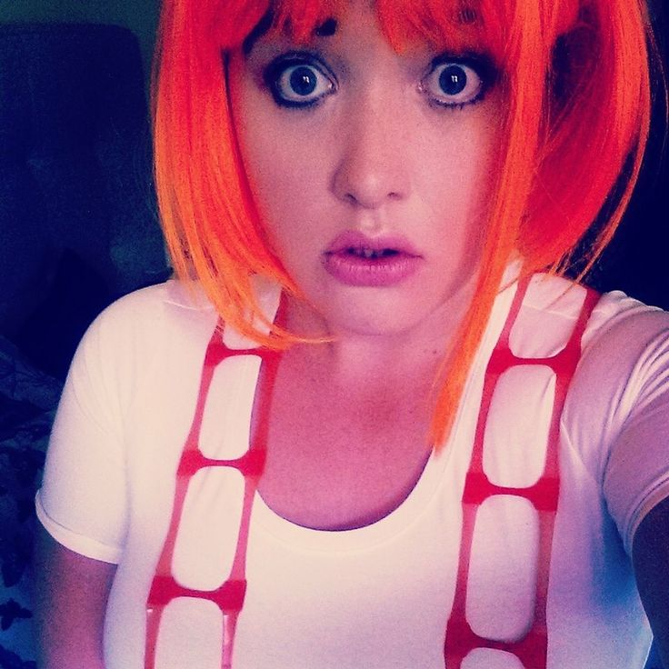 Leeloo lelu multi pass Halloween costume cosplay fifth element