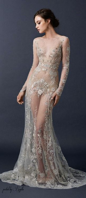 Regilla ⚜ Paolo Sebastian really pretty. Takes a brave chicka with a really good figure to wear this