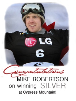 Congrats to Mike Robertson!