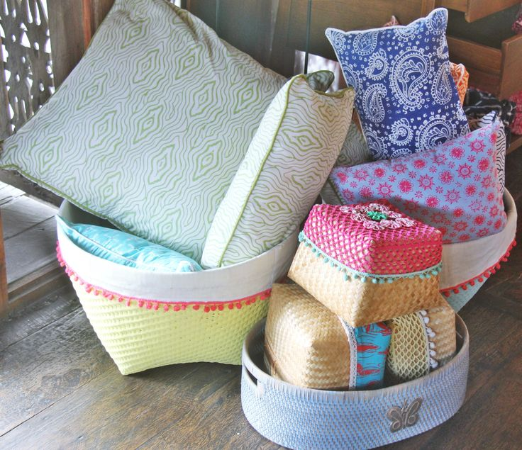Storage and Basketry by Tan Living.