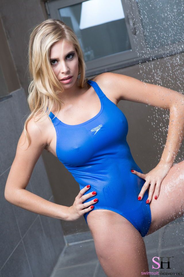 9d218341aab78 Pin by SexyMetallics on One Piece Swimsuits - Metallic & Wet Look
