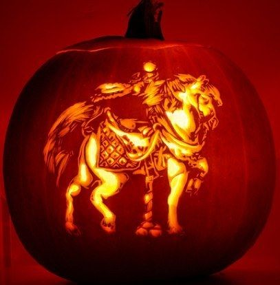 468 best carousel horses images on pinterest for Halloween pumpkin painting templates