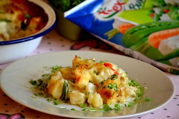 Bacalhau com Natas czyli dorsz w sosie beszamelowy