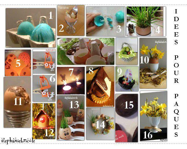 Idée de déco pour Pâques  marque,place pour la table et couronne de Pâques  pour la porte ! , Stéphanie bricole