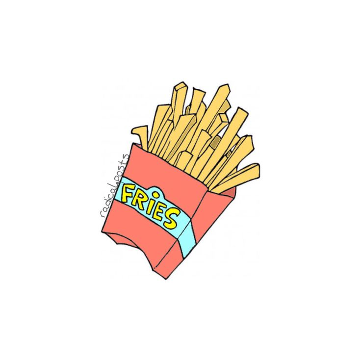 Fries before guys ~ tumblr transparents and layovers Credit : radical.posts   instagram