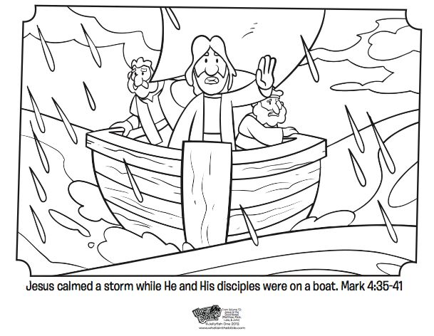 jesus and the storm coloring pages - 17 best images about jesus calms storm bible story on
