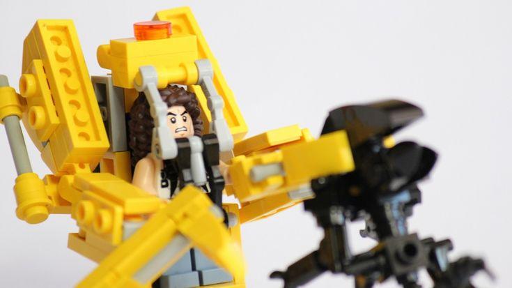 ALIENS' Power Loader Ripley Is the Latest Cool Custom LEGO Set