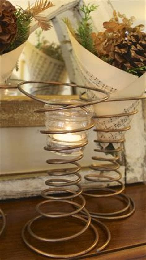Image Result For Crafting With Old Bed Springs