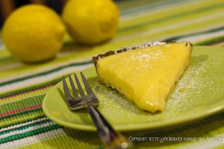 my 6 lemons tarta