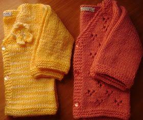 Receita: Felix's Cardigan  - Jacki Kelly  Fio: Fofura Baby & Kids - Círculo Cor: 9368 - amarelo Agulha: 4mm Quantidade: 100gr - 1 novelo  F...